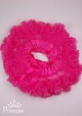 Фото: Яркая пышная юбка для девочки (артикул O 50317-pink) - изображение