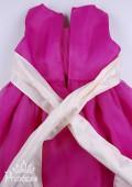 Фото: Яркое платье малинового цвета (артикул 3018-dark pink) - изображение