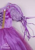 Фото: Праздничное платье Рапунцель для девочки (артикул 3127-violet) - изображение