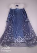 Фото: Платье Эльзы из нового мультфильма (артикул 3131-blue) - изображение