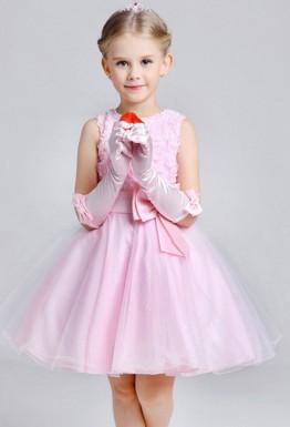 Совсем не сложно: перчатки под детское платье