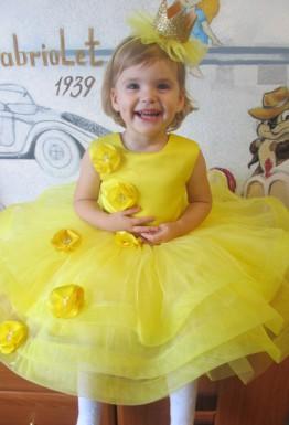 Создаем сказочный образ сами: в основе нарядное детское платье