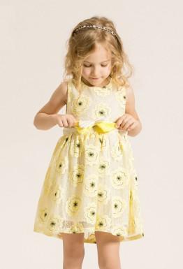 Нарядное детское платье: вдохновляясь цветами