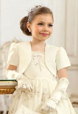 Детское болеро - стильное дополнение к нарядному платью
