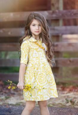 Размер в размер или подходящее детское платье
