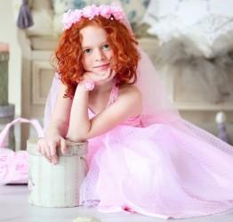 Детские платья: 50 оттенков розового