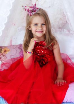Фотосессия для малышки: образ принцессы