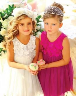 Тенденции нарядной моды для девочек