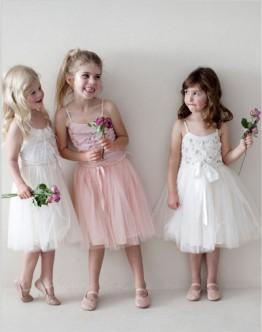 Мода 2016: фасоны детских платьев